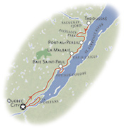 Quebec Canada Map